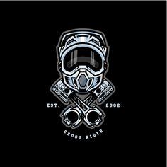 Logo distintivo cross motocross cross Ve. Fox Racing Tattoos, Fox Racing Logo, Motocross Logo, Motocross Riders, Motocross Tattoo, Motorcycle Art, Bike Art, Logo Moto, Moto Trial