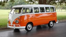 1975 Volkswagen 15 Window Kombi Bus - 1 - Print Image