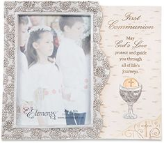 Pavilion Gift Company Elements Catholic First Communion Gift Picture Frame 4 x 6 * Want to know more, click on the image.