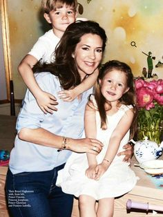 July 2016 - Crown Princess Mary in the August Issue of Vogue Australia