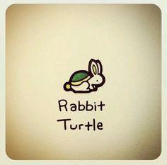 @turtlewayne Rabbit Turtle
