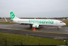 New Transavia's livery.