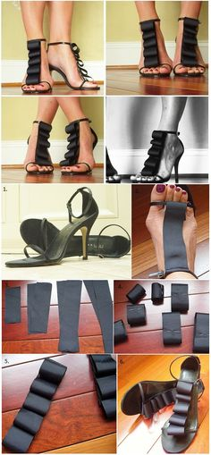 Give Your Old Shoes an Exciting New Twist