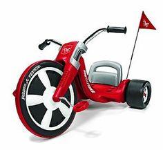 Flyer Big Radio 79s Tricycle Wheel Bike Toy Ride Red Child Kids Toys New | eBay Radio Flyer, Kids Ride On, Kids Bike, Radios, Big Wheel Trike, Trike Chopper, Pokemon, Gadgets, Chrome Handles