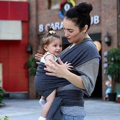 Adjustable Baby Wrap Carrier Soft Rope Infant Newborn Cotton Sling Portable