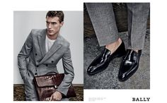 Clément Chabernaud Stars in Bally Spring/Summer 2015 Mens Campaign