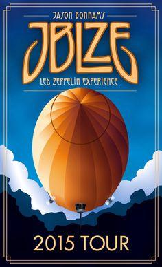 Jason Bonham's - Led Zeppelin Experience ( JBLZE ) 2015 Tour  ☯☮ॐ Lucas Lima ☯☮ॐ