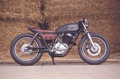 1980 Suzuki GN400 custom conversion by Old Empire Motorcycles in conjunction with ODFU.