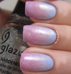 gems in a bottle. - a nail blog: Baby Fairy...