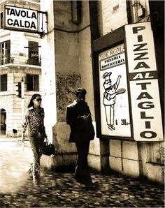 Sergio Occhiuzzo- Rome street