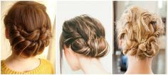 3 updo hair style