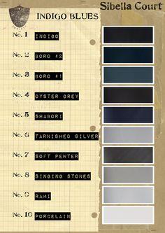 indigo blues - sibella court #wardrobearchitect #wardrobechallenge