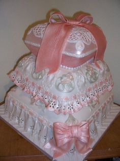 baby shower cakes for girls | Baby Shower Cakes