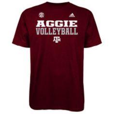 College Depot | Adidas Aggie Volleyball Shirt