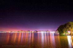Estrellas y reflejos - Puerto Varas (Patagonia - Chile)