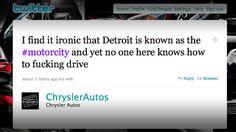 Chrysler | 19 Companies That Made Huge Social Media Fails
