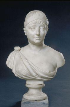 Giuseppe CERRACHI, (Rome, 1751 - Paris, 1801), Générale Verdier (femme du général Verdier), 1776-1800, Inv. 49 6 154. Non exposée. © Musée des Augustins, Toulouse.