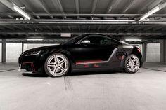 Eine neue Abgasanlage und neue Felgen haben die Tuner von HG Motorsport dem Audi TT RS verpasst. Weitere Modifikationen des sportlichen Ingolstädters sind in Planung.