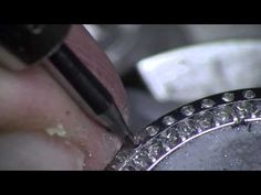 Stone setting. Watch bezel (Steel) Part1. Preparing for setting