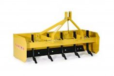 Our 5′ Box Blade features our durable, corrosion-resistant powder coat finish.  Ideal for working gravel, topsoil, mulch, manure, corrals, arenas and more.  Even works great for food plots! Heavy-duty steel rear-mount box blades help retain product being worked.  Equipped with a fixed front and rear replaceable/reversible steel cutting edges.