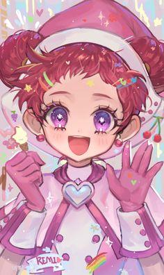 L Anime, Anime Toys, Female Anime, Anime Chibi, Kawaii Anime Girl, Anime Art Girl, Doremi Anime, Ojamajo Doremi, Cute Panda Wallpaper