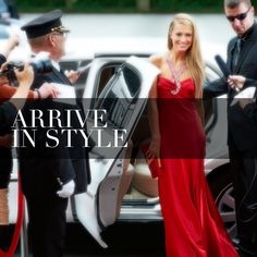 We're all about making an entrance! Call us for all your Xmas festivities and corporate get togethers.