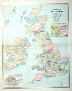Antique C Map Of The Environs Of Manchester England - Old map shop london