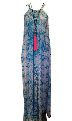 Teal Maxi Dress – 365 Days Of Resort Wear
