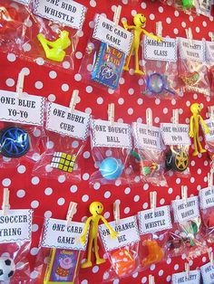 Circus Party Prize Board by esmeralda