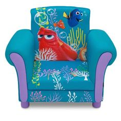 "Disney Pixar Finding Dory Upholstered Chair - Delta - Toys ""R"" Us"