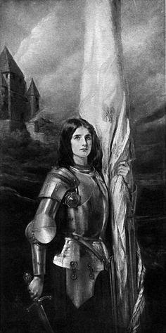 Jean d'Arc, defender of France. http://www.awesomestories.com/images/user/f4625bd62d.jpg