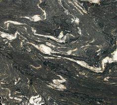 Titanium Black Granite   Mediterranean   Kitchen Countertops   Seattle    Crocodile Rock Natural Stone Company