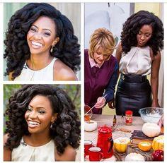 natural hair | Teyonah Parris