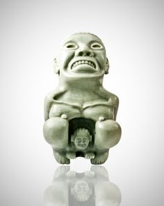 It is a very realistic representation of a parturition, which is connected to the fertility rites an Aztec tribe. The sculpture shows the goddess giving birth to another deity, in a squatting position, […]