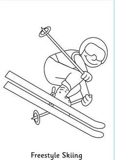 meester Henk - Olympische Winterspelen :: olympischewinterspelen Craft Activities For Kids, Winter Activities, Olympic Idea, Olympic Games, Olympic Crafts, Theme Sport, Sport Sport, Sport Wear, Freestyle Skiing