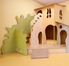 Spiellandschaft für Kindergarten