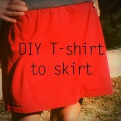 Old T-shirt Crafts