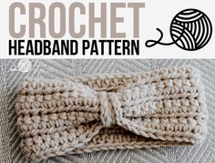 Crochet Chained Ear Warmer - Headband Pattern by Rescued Paw Designs