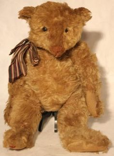 Steiff Teddy Bear (1905-1907), Repaired Ankle, $2600