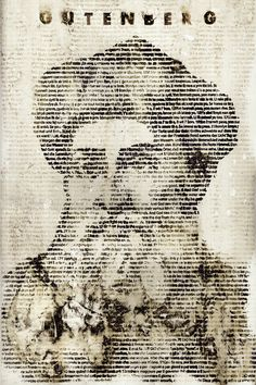 Gutenberg, who introduced printing in Europe, and who is referred to as the inventor of typography. invented mechanical movable type printing. The Gutenberg era (1456-1760) is marked by its influence of the printed word in typographically heavy designs. Design done by Rodrigo Serna from Behance.