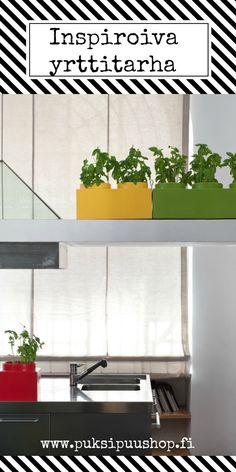 Valite värisi ja rakenna yrttitarhasi ikkunalle! www.puksipuushop.fi http://puksipuushop.fi/tuote/nello-il-matto-yrttiruukku/