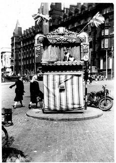 Punch and Judy - Codman's Theatre, Lime Street, Liverpool c. 1950s