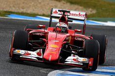 Kimi Räikkönen - Ferrari SF15-T - 2015 - Jerez (Test) [3072x2048]