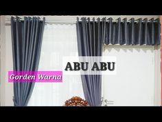 Desain Gorden Abu Abu Perum Sidoarjo Indah Permai Sidoarjo Jawatimur - YouTube Window Styles, Surabaya, Windows, Curtains, Interior, Youtube, Life, Home Decor, Fashion