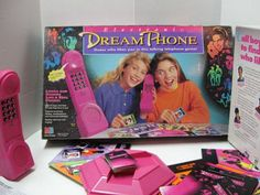 dream phone...this was the best game ever!