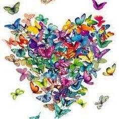 I love butterflies.