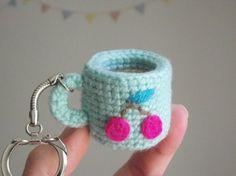Amigurumi cup mug crochet pattern