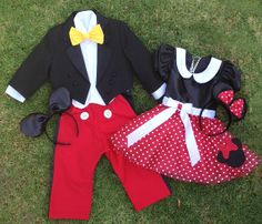 Mickey and Minne brother sister set by CnL4Etsy on Etsy, $225.00