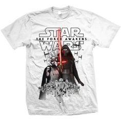 Star Wars Mens Tee: Episode VII New Villains Ref:STWAEP7TS22MB