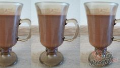 Domácí horká čokoláda | NejRecept.cz Food And Drink, Appetizers, Beer, Mugs, Drinks, Tableware, Smoothie, Syrup, Drinking